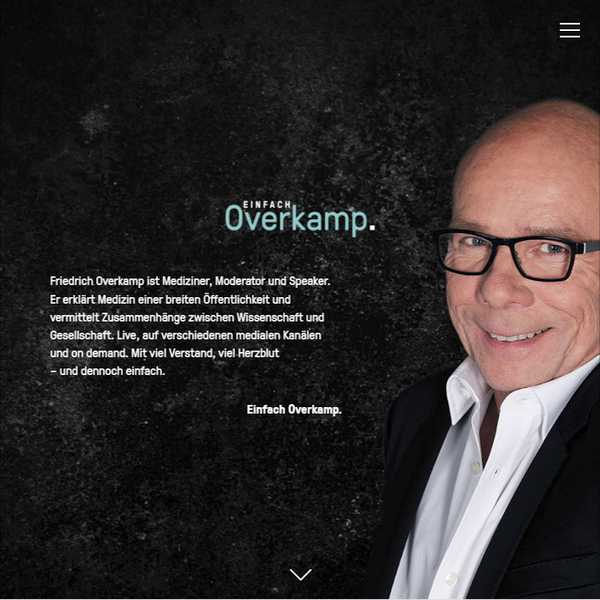 einfach overkamp Web development & Web Design Projekt